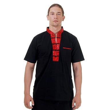 Kung-Fu,Tai-Chi & Meditations T-Shirt Baumwolle & Seide Schwarz M L XL:  Amazon.de: Bekleidung