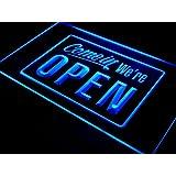 ADV PRO i001-b We're OPEN Shop cafe Bar Display Neon Light Sign