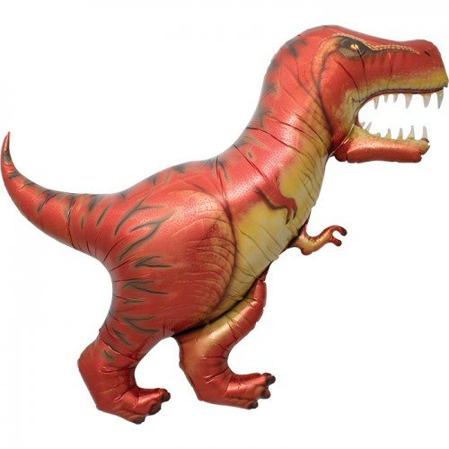 Dinosaur Mylar Balloon - T Rex Balloon - 47 inches