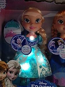 Amazon Com Frozen Snow Glow Anna And Elsa Dolls Toys Amp Games