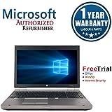 HP EliteBook 8570P 15.6 Inch Business High Performance Laptop Computer(Intel Core i5 3320M 2.6G,8G RAM DDR3,240G SSD,DVD-ROM ,Windows 10 Professional)(Certified Refurbished)