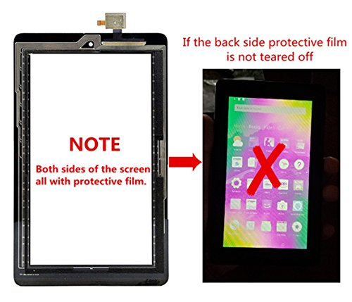 XR Touch Screen Glass Digitizer Replacement for Amazon Kindle Fire 7 5th 2015 SV98LN with Tools (NOT 7th Gen,2017 release) by XR (Image #2)