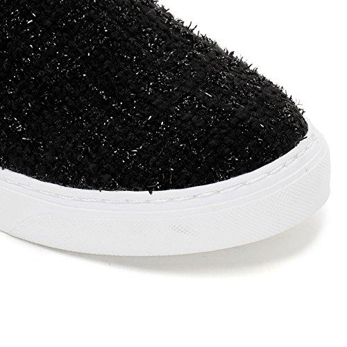 de Sneakers Bouclé amp;Scarpe On Negro Prendimi Tejido Slip Scarpe qzg6IwIT