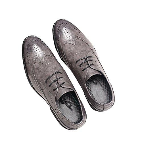 MYC Gray Oxford Shoes For Men Oxford Men's Dress Shoes