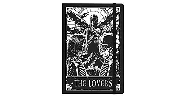 Business & Industrial Deadly Tarot Notebook The Lovers A5 Hard ...