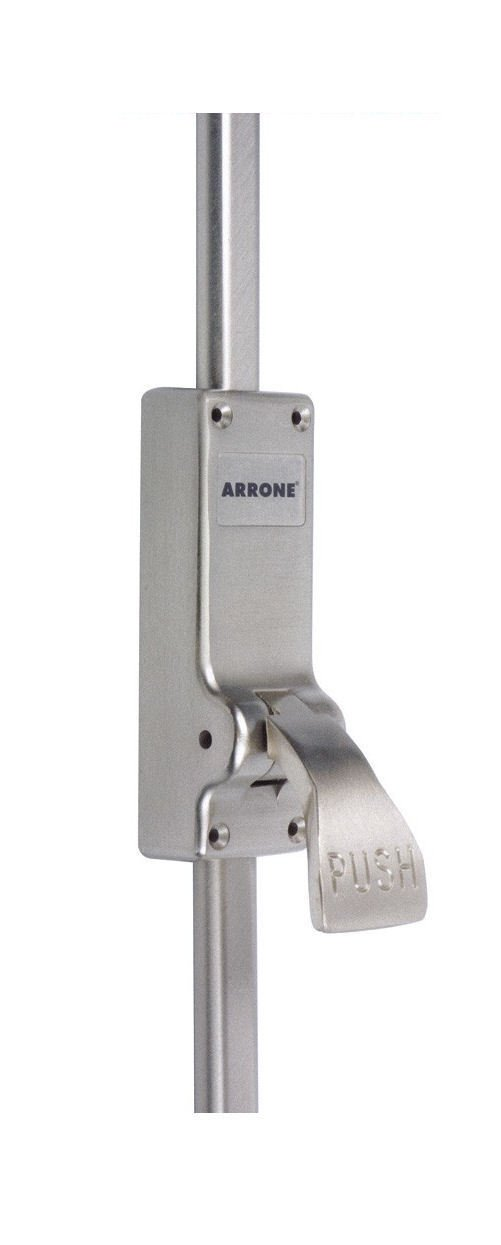 Hoppe AR884 Push Pad Emergency Exit Verical Panic Bolt Single Door Hardware Fire Escape Arrone by Hoppe
