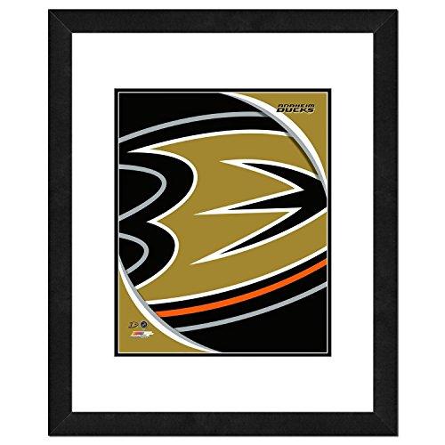 NHL Anaheim Ducks Team Logo Double Matted & Framed Photo, 22.5