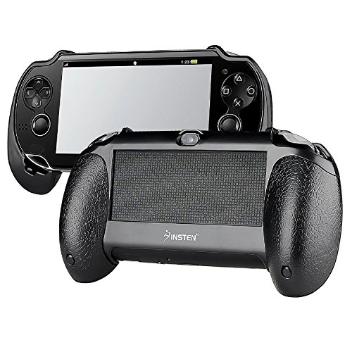Insten New Trigger Grips Black Compatible With PSVita Playstation Vita