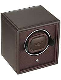 WOLF 455206 Cub Single Watch Winder, Brown