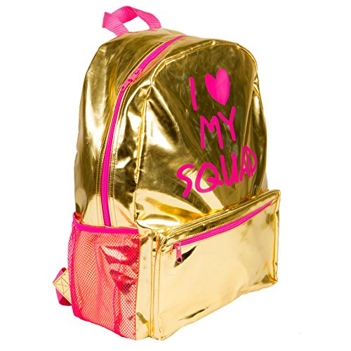 Heart Squad Gold Metallic Backpack product image