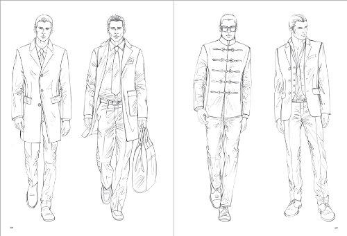 Figure Drawing For Mens Fashion Pepin Press Design Books Amazoncouk Elisabetta Drudi 9789054961550