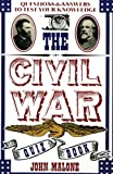 The Civil War Quiz Book, John Malone and Bill Adler, 0688112692