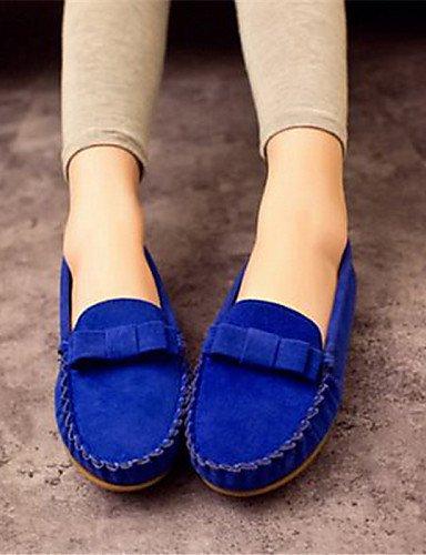 Tacón Cn40 5 5 Mocasines Amarillo De Punta Sintético Mujer Azul Zapatos 5 Eu39 Redonda Ante Uk6 us8 Yellow Eu36 Casual Blue us5 Zq 5 Cn35 Uk3 Rosa Plano Negro qSwt1RR