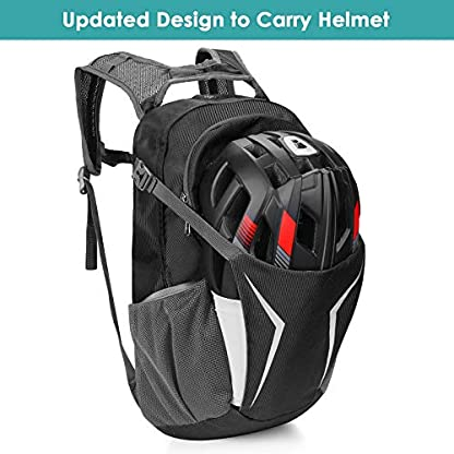 Kuyou Insulated Hydration Backpack,Large Capacity Hydration Pack With 2L Leakproof Hydration Bladder Lightweight Water… 3