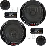"Alpine SPR-60C 6.5"" Car Audio Component System (Pair)"