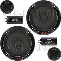 Alpine SPR-60C 6.5 Car Audio Component System (Pair)