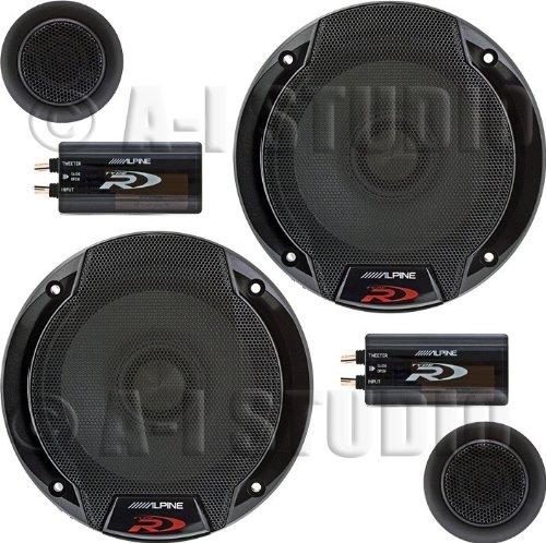 "Alpine SPR-60C 6.5"" Car Audio Component System"