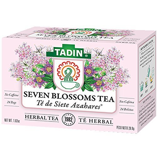 Tadin Seven Blossoms Tea To bed Time 24 Bags - Te Para Dormir