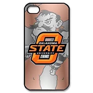 Ncaa Series Back Case Ncaa Oklahoma State for Iphone 4 4s Apple Iphone Oklahoma State University