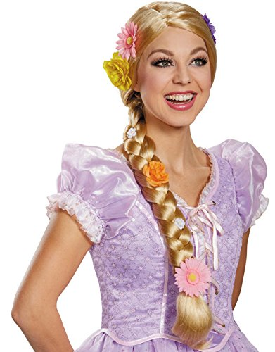 Rapunzel Adult Wig (Rapunzel Ultra Prestige Wig Costume Accessory)