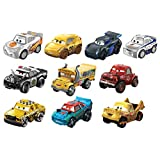 Disney Cars Pixar Cars 10 Pack Vehicles, Multicolor