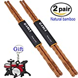 Drum sticks Natural Bamboo Drumsticks 5A - Best Reviews Guide