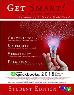Get going with quickbooks® 2018 for windows tlr, inc.
