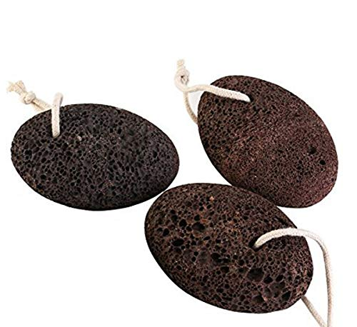 MH ZONE Natural Lava Exfoliating Pumice Stone for Feet, Foot Stone, Pedicure Tools for Exfoliation to Remove Dead Skin Foot Scrubber