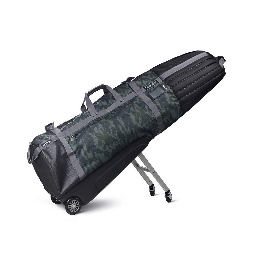 Sun Mountain Golf CLUBGLIDER Meridian Travel Cover Bag - Black-Black-Camo by Sun Mountain