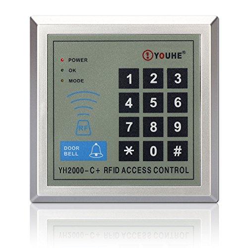 - Access Control Keypad, ZOTER RFID Proximity ID Card Reader 125KHz for Electric Door Lock