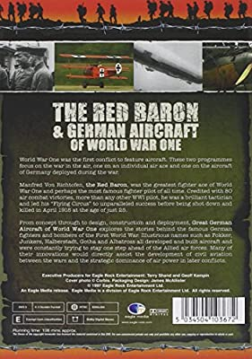 World War One: The Centenary Collection - The Red Baron & German Aircraft Of World War One [DVD] [2014] [NTSC] [Import anglais]