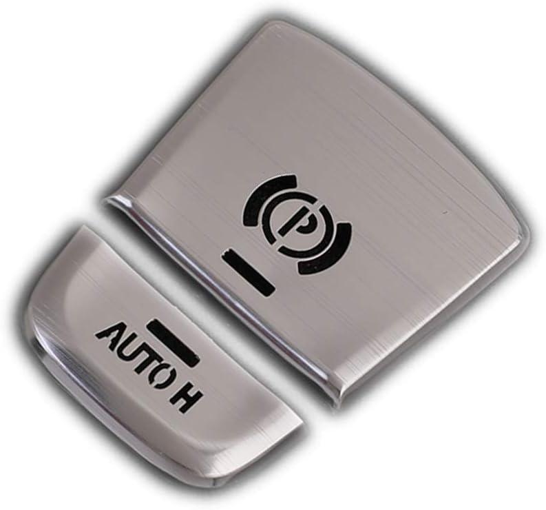 Cubierta de aluminio para freno de mano electr/ónico AUTO H para botones G01 X3 2018 P G38 G30 2017 2018 P
