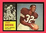 Jim Brown, 1962 Topps Football Reprint (Browns)