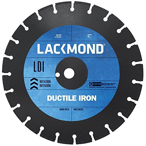 Cutting Ductile Iron - Lackmond LDI121251 12-Inch Segmented Diamond Blade for Cutting Ductile Iron Pipe