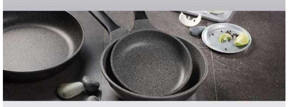 Amazon.com: PN Sharten Nature Stone 28CM Stone Coating Non Stick Pan SNSWP-28 Black: Kitchen & Dining