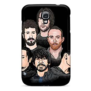 Scratch Resistant Cell-phone Hard Covers For Samsung Galaxy S4 (mhU344MWmS) Custom Nice Linkin Park Band Pictures