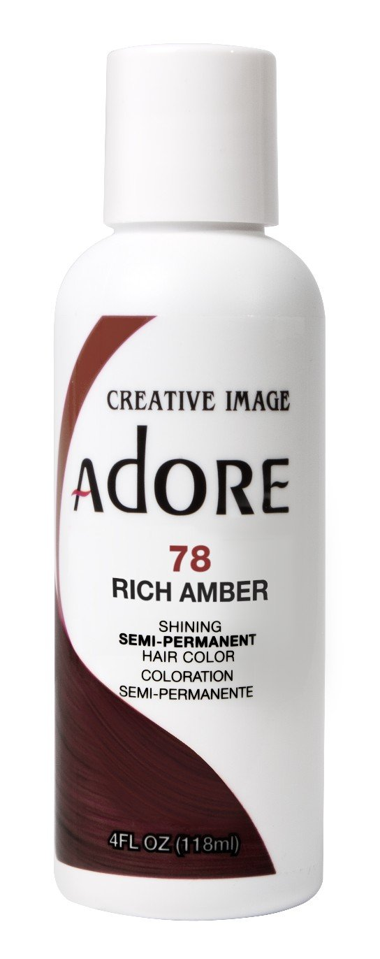 Amazon Adore Semi Permanent Haircolor 078 Rich Amber 4 Ounce