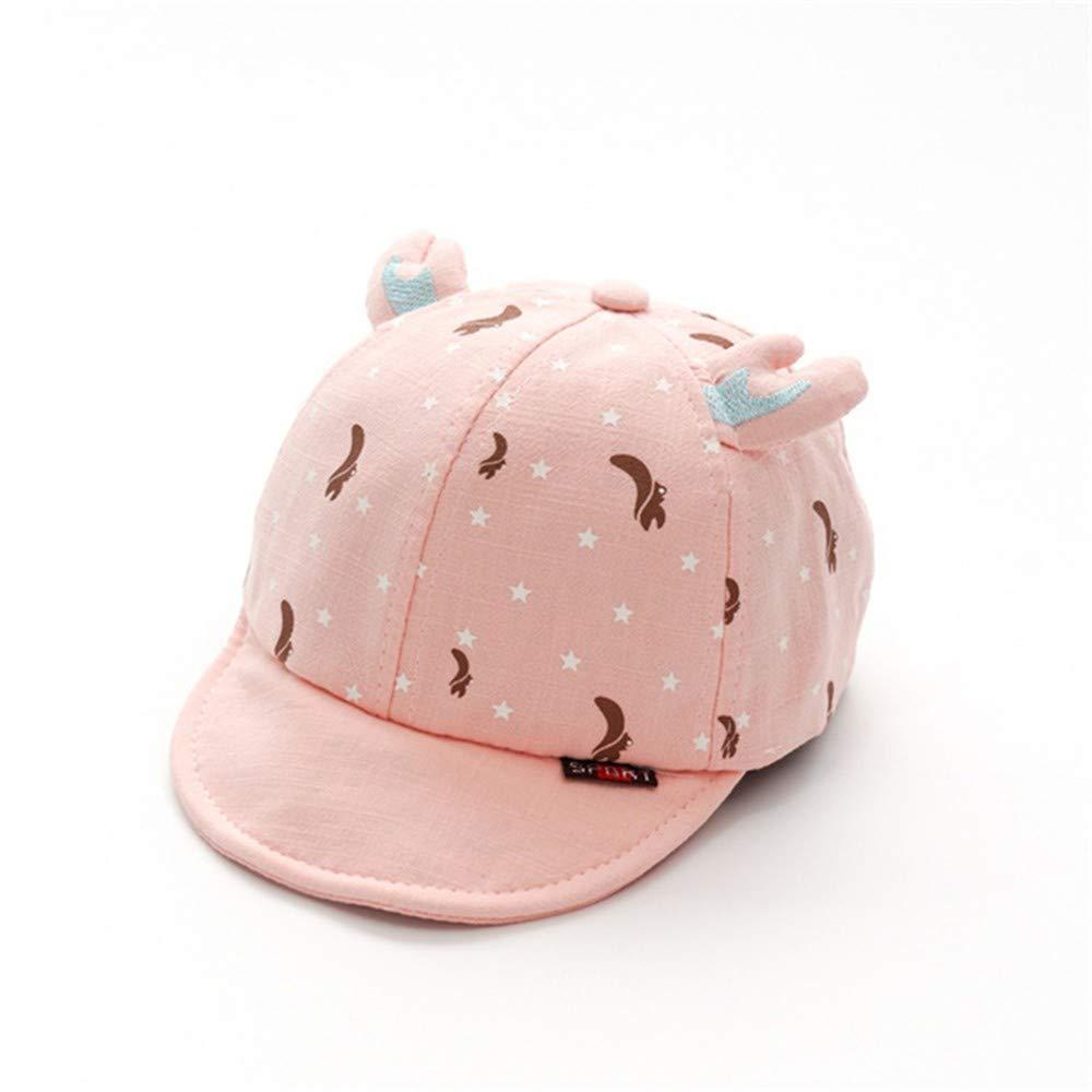 Zyyaxky Baby Hut Frühling Und Herbst Sonnenhut Baseballmütze Jungen Und Mädchen Baumwolle Visor Sonnencreme Baby Hut