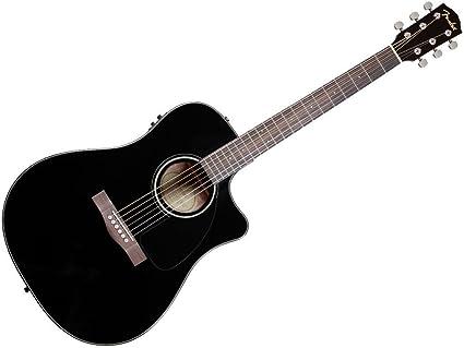 Fender 0961542006 cd-60ce – Guitarra electroacústica, color negro ...