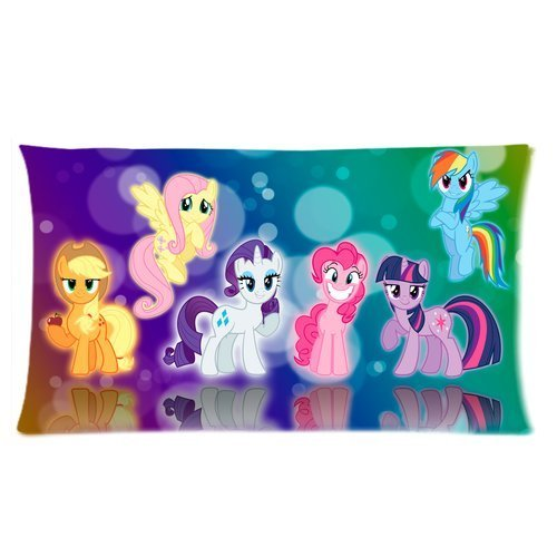 Stylish Design Cute Cartoon Film MY little pony For Children personalized pillowcase hotsale for Children 20x36 Two sides-4