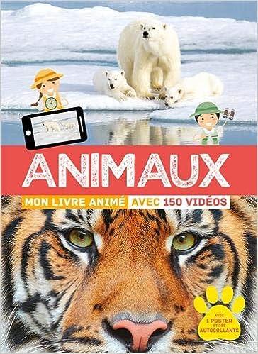 """Résultat de recherche d'images pour """"animaux mon livre animé avec 150 vidéos"""""""""""