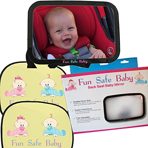 Baby Comfort Pack Backseat Rear Facing Sunshades product image