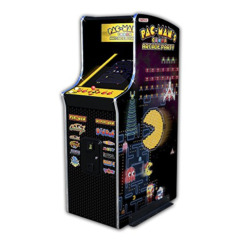 Namco Pac-Mans Arcade Party Coin-Op Upright Game Cabinet - Buy Online In UAE.