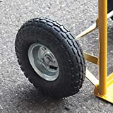 "2 x 10"" Pneumatic Tyre 4.1/3.5-4, 260x85 mm"