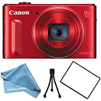 Canon PowerShot SX610 HS Digital Camera RED