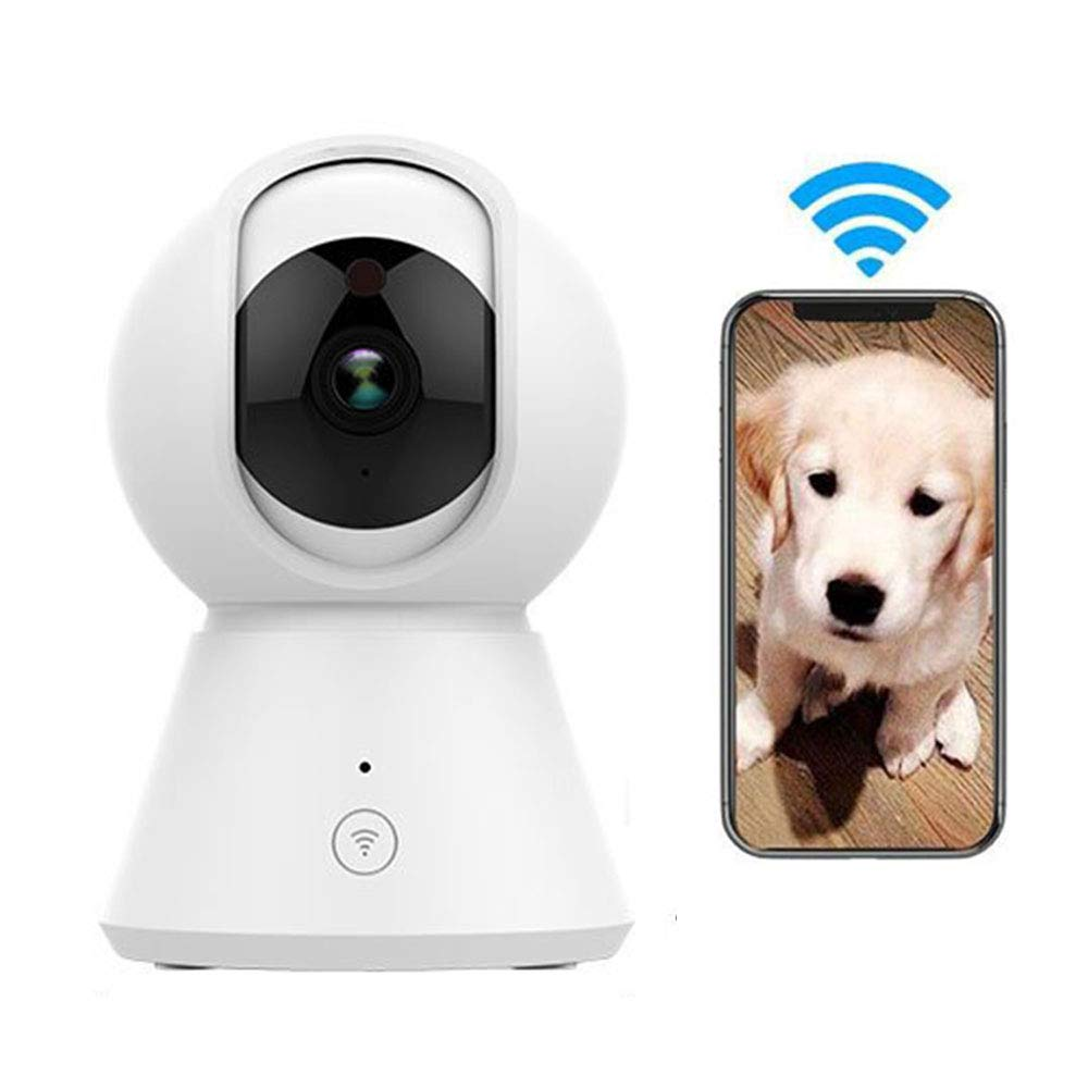 720p Wireless Pet Camera,Dog Monitor, Cat IP Camera, Hd Surveilance,Baby Crying Detection with Motion Detection Infrared Night Vision Two-Way Audio,720p