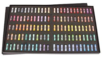 Jack Richeson Richeson Signature Assorted Round Half Stick Pastels (Set of 120)