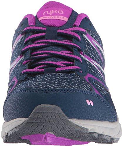 Navy Revive Pink Shoe Ryka Purple US M WoMen Walking 9 Navy RZX aOwwv57qA