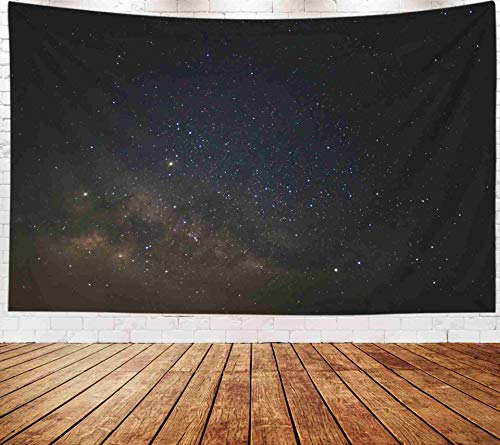 Fullentiart Wall Tapestry, Map Large Tapestry Wall Hanging 80x60inch Milky Way Galaxy Stars Space Dust in The Universe Decoration Room Holiday Décor Tapestries