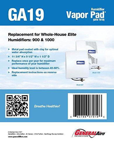 General Filters, Inc GA19 Pad Humidifier